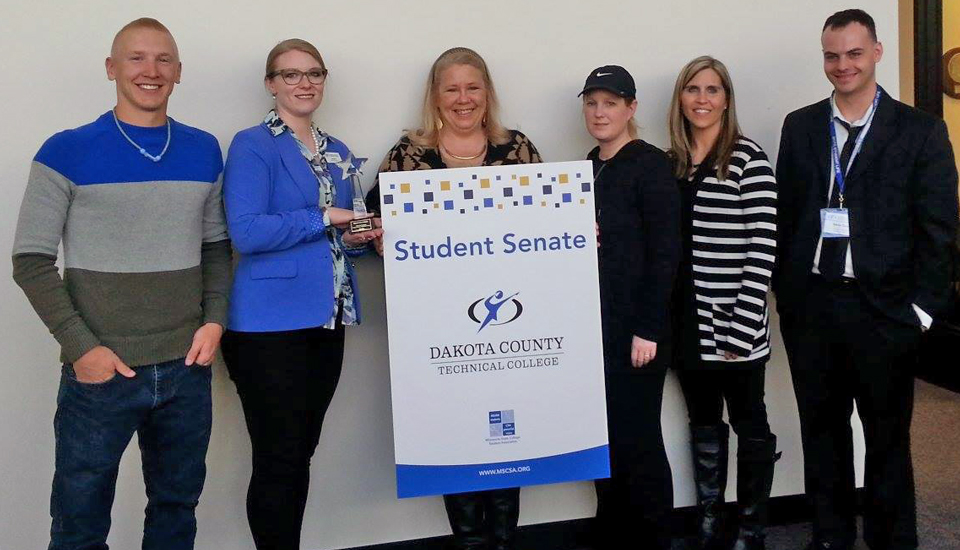 Student Senate Receives Star Campus Recognition Through MSCSA