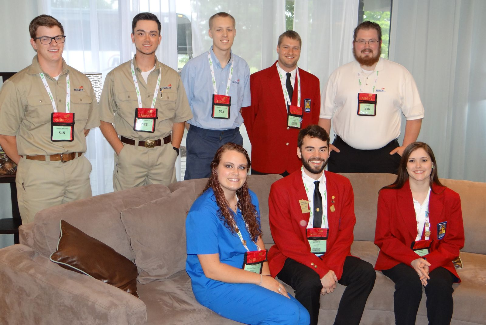 SkillsUSA Nationals Group Photo